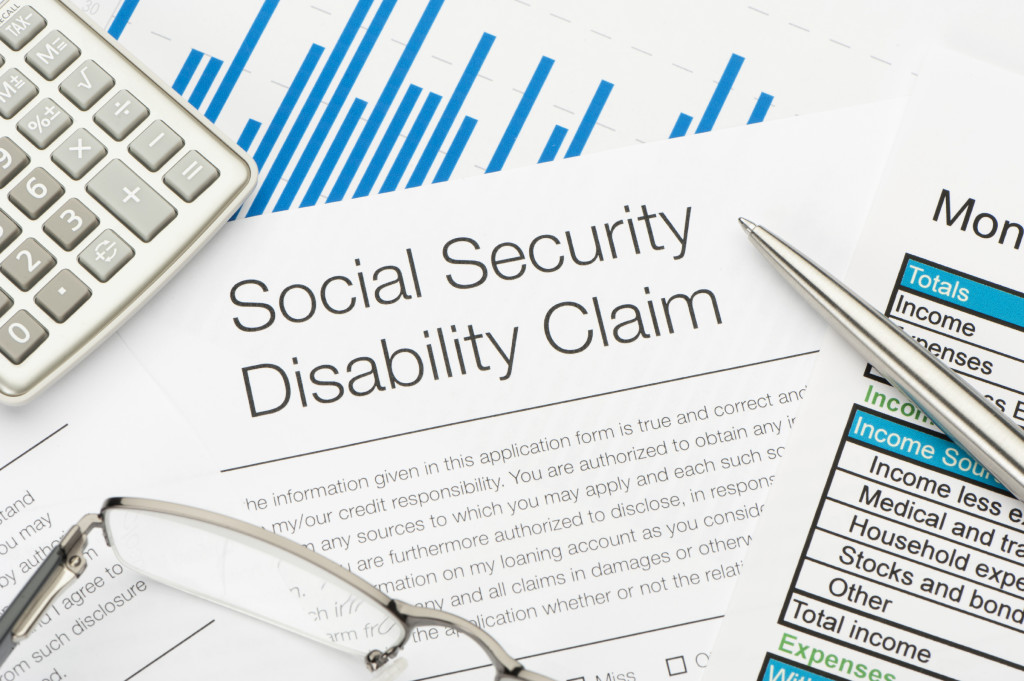 Social Security Disability Claim Form
